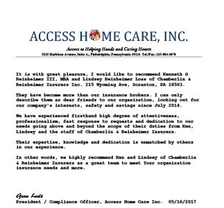 nursing home insurance policy