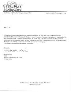 health care insurance testimonial